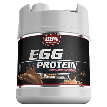 BBN Hardcore 100% Egg Protein Schoko Dose, 1er Pack (1 x 1,9 kg)