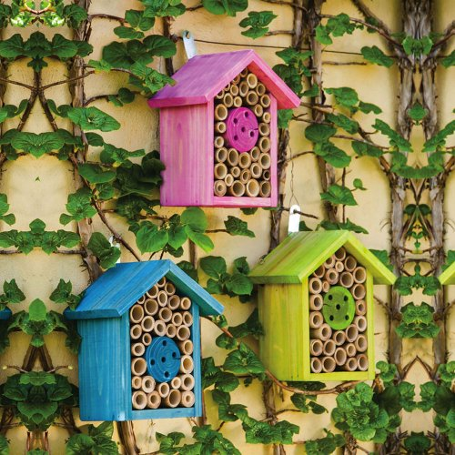 pink-blue-and-green-wood-house-bee-habitats