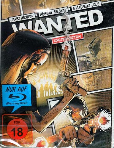 Wanted - Limited Steelbook Edition [Blu-ray]