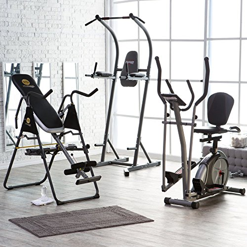 Body Champ Body Pro Cardio, Core, & Strength Bundle, Black, Metal