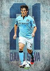 David Silva Poster