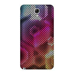 Super Cases Back Cover For Samsung Galaxy Note 3 (Multicolor)