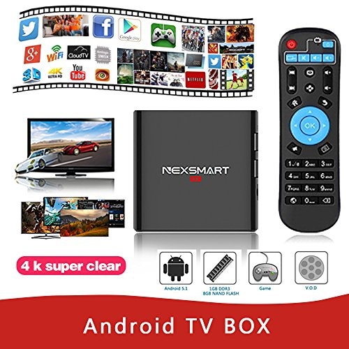 Android Tv Box,Universal Buying Roclchip RK3299 Quad Core Mini PC Streaming Media Player Smart Tv Set Andriod 5.1 Top Box with H.265 2.4G WIFI HDMI 2.0 1GB/8GB/4K
