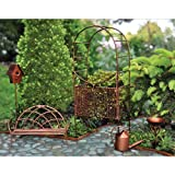 Georgetown Fiddlehead Fairy Garden Accessories Set
