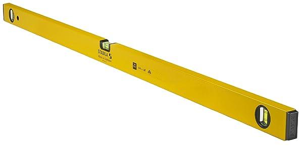 Stabila 22948 48-Inch 70-2 Homeowner Series Traditional Spirit Level (Color: Yellow, Tamaño: 48)