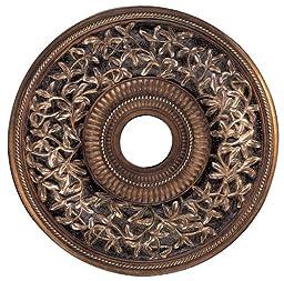 Minka-Aire CM1550-FLP, 22 Inch Diameter Ceiling Medallion, Florence Patina