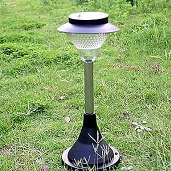 led solar powered lawn light garden light leh 41595e