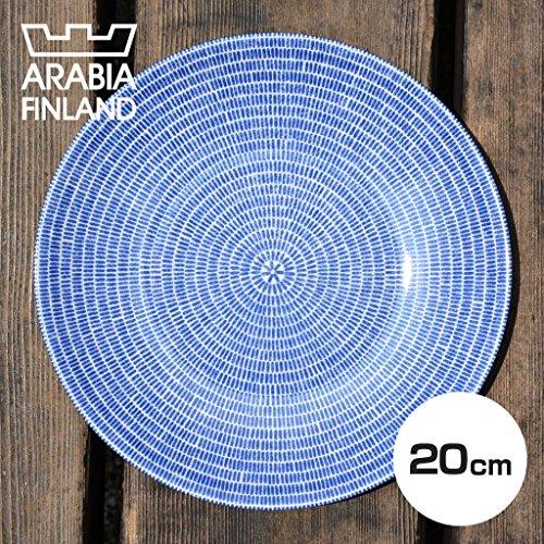 (アラビア) Arabia 24H AVEC PLATE アベック プレート FLAT 20cm BLUE 8284 [並行輸入品]
