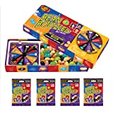 Jelly Belly 3.5 oz BeanBoozled Spinner Wheel Game Jelly Bean Gift Box with 4 - 1.9 oz BeanBoozled Jelly Bean Refills (Party Pack) (Tamaño: 3.5 Ounces)