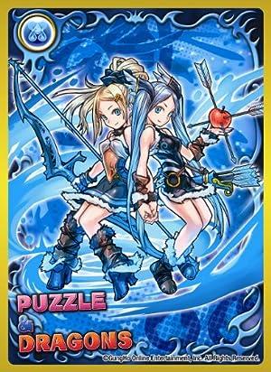きゃらスリーブコレクション パズル&ドラゴンズ 双星の女神・イズン&イズーナ (No.181)