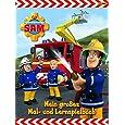 Feuerwehrmann Sam Malbuch: Mein großes Mal- und Lernspielbuch