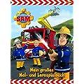 Feuerwehrmann Sam Malbuch: Mein gro�es Mal- und Lernspielbuch