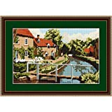 Brigantia Needlework Lower Slaughter Tapestry Picture Kit in Tent Stitch