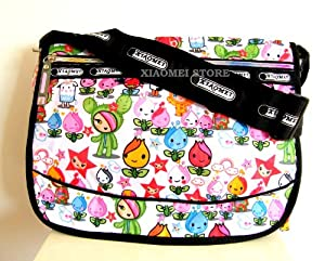 Xiaomei Colourful Cartoon A4 Ladys Bag 825c For Travel Holiday Mummy Changing Bag Gym Bag School Or College Etc by XIAOMEI