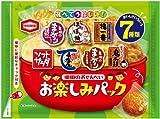 亀田製菓 亀田のおせんべいお楽しみパック 198g