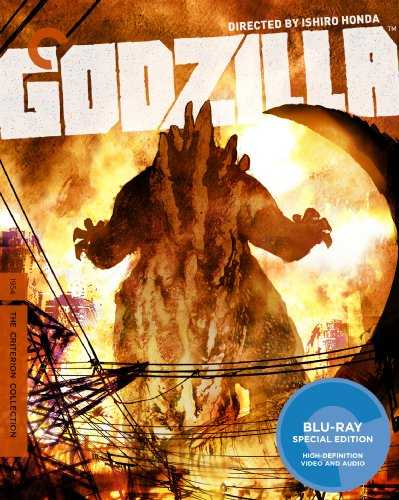 Cover art for  Godzilla (The Criterion Collection) [Blu-ray]