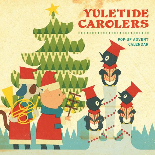 Yuletide Carolers: Pop-Up Advent Calendar