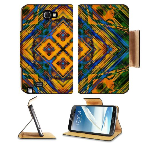 Pattern Colourful Samsung Galaxy Note 2 N7100 Flip Case Stand Magnetic Cover Open Ports Customized Made To Order Support Ready Premium Deluxe Pu Leather 6 1/16 Inch (154Mm) X 3 5/16 Inch (84Mm) X 9/16 Inch (14Mm) Liil Note Cover Professional Note2 Cases N front-887498