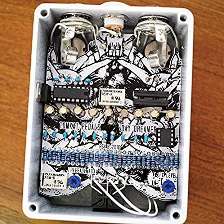 TOMKAT Pedals and Electronics DAY DREAMER Echo-Reverb �ȥ७��åȥڥ��륺����ɥ��쥯�ȥ�˥��� �ǥ��ɥ�ޡ���������С��� ����������