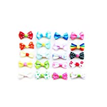 Ema Jane - Assorted Vintage Hair Bow Clips (10 Matching Pairs) (Set of 20)