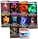 Erica Spindler Erica Spindler 10 Books Collection Pack Set (In Silence, Dead Run , Bone Cold , See Jane Die, All Fall Down , Last Known Victim , Killer Takes All , Shocking Pink , Copycat , Cause for Alarm)