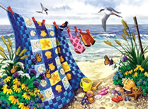 Seaside Summer a 500-Piece Jigsaw Puzzle by Sunsout Inc.