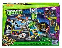 Mega Bloks DMX55 Teenage Mutant Ninja Turtles - Turtle Sewer Lair, 342 Piece