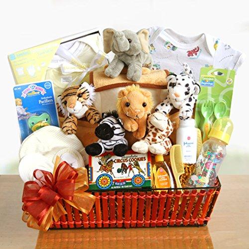 Noah'S Ark Baby Gift Basket front-430150