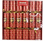 6 Arsenal Football Christmas Party Crackers
