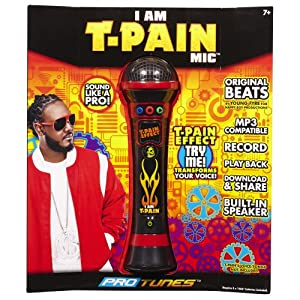 T-Pain Microphone (Red and Black)