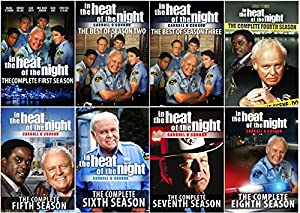 In The Heat of the Night: The Series Collector's Edition - The Best of all 8 Seasons - 34 DVDs - 119 Episodes