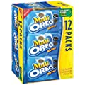 Oreo Mini Cookies Multipack, 12 count (Pack of 4) from Oreo