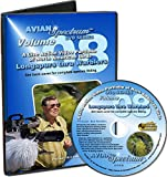 Bird Identification DVD Volume 08: Warblers and Longspurs - Live Video of North American Birds with Flight Range Maps, Pictures & Songs - Join us in the Field with Bird Watching Binoculars