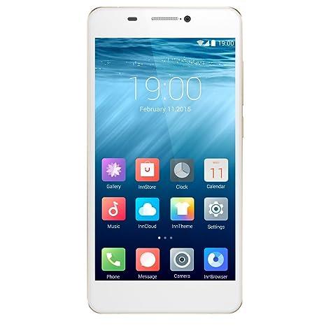 InnJoo One LTE Smartphone débloqué (Ecran: 5 pouces - 16 Go - Android 4.4) Or (import Europe)