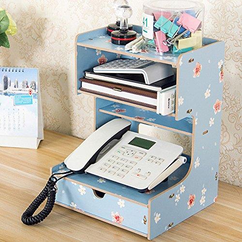 (ウィンコ)Winko 机上収 納ボックス ファイルボックス 書類ケース 木製 多機能 収納ボックス フォルダ 雑誌