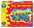 Big Aero plane Shaped Floor Puzzle