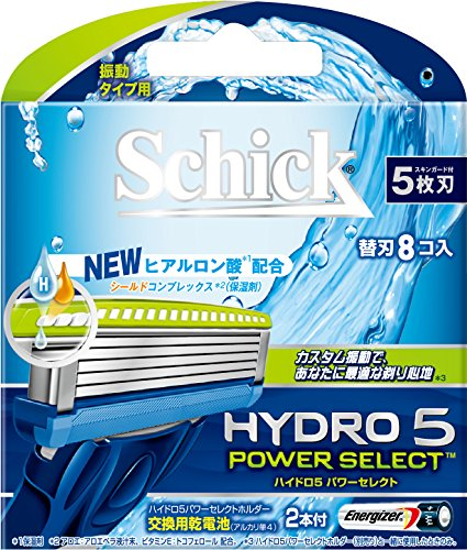 ハイドロ5パワーセレクト替刃 8コ入