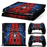 ZOOMHITSKINS PS4 Skin Decal Sticker Superhero Custom Design + 2 Controller Skins Set