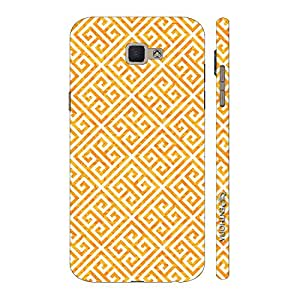 Enthopia Designer Hardshell Case The Yellow Greecian Look Back Cover for Samsung Galaxy J7 Prime SM-G610F