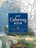 img - for Posh Adult Coloring Book: Thomas Kinkade Designs for Inspiration and Relaxation (Posh Coloring Book) book / textbook / text book