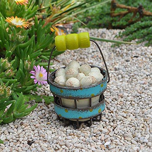 Studio M Gypsy Garden Collection Mini Egg Basket