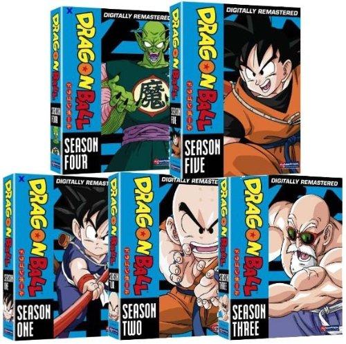 Dragon Ball Complete Series Mega Collection - Includes Dragon Ball Seasons 1-5, Dragon Ball GT Seasons 1-2, and Dragon Ball Z Seasons 1-9 (Over 200 Hours on 89 Discs!) (Dragon Ball Season 5 compare prices)