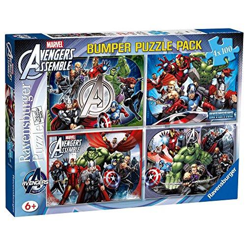 The Avengers - Set di 4 Puzzle