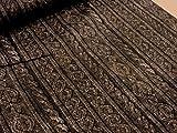 リアルプリント 縄編みニット ブラウン オックス生地    |生地|布|コットン|綿|エプロン|インテリア|カバー|シーツ|カーテン|目隠し|実写|そっくり|