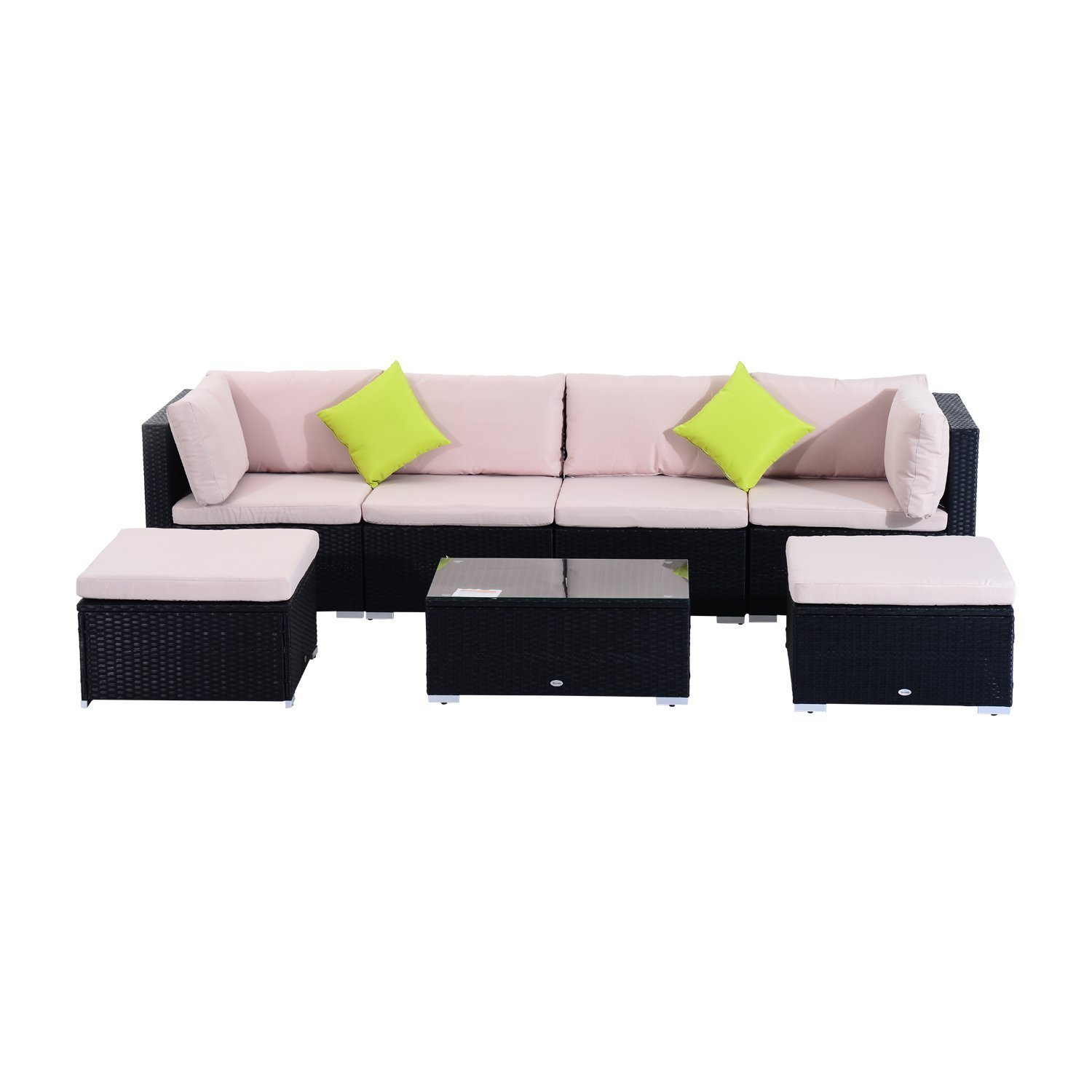 outsunny polyrattan gartenm bel 21tlg rattan gartenset. Black Bedroom Furniture Sets. Home Design Ideas
