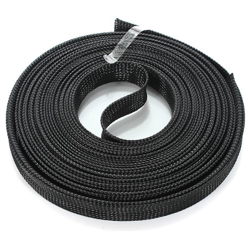 Comple 4Mm Braided Expandable Auto Wire Cable Sleeving High Density Sheathing-10M.