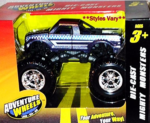 Adventure Wheels Die-Cast Mighty Monster Trucks - 1