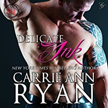 Delicate Ink (Montgomery Ink) (       UNABRIDGED) by Carrie Ann Ryan Narrated by Gregory Salinas