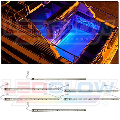 6Pc Blue Led Boat Deck & Cabin Lighting Kit