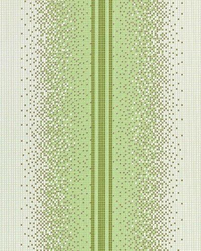 Abwaschbare Tapete Hornbach : EDEM Streifen Tapete EDEM 1023-15 Tapete Design Mosaik-Steinchen Must